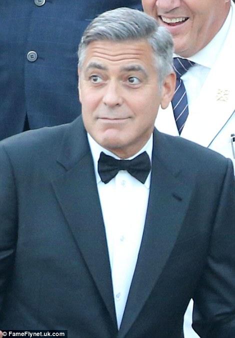 Chú rể George Clooney