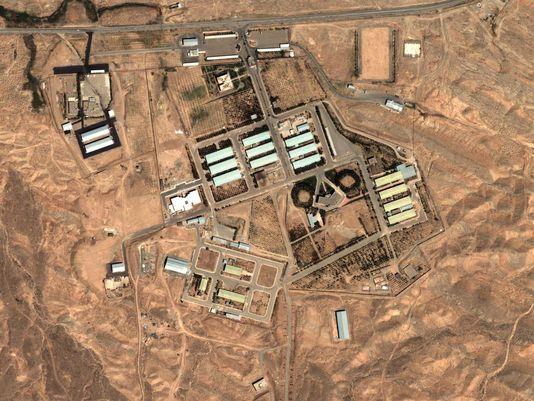 Khu phức hợp quân sự Parchin, Iran. Ảnh: AP