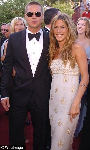 Brad và vợ cũ Jennifer Aniston