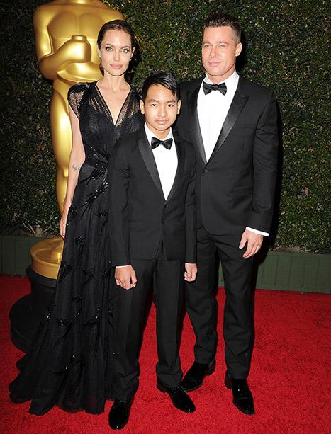 Maddox trở thành trợ lý sản xuất trong phim của cha mẹ