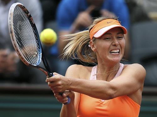 Sharapova có cơ hội vàng để lần thứ 2 lên ngôi tại Pháp mở rộng  Ảnh: Reuters