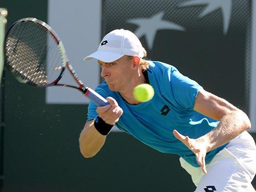 Anderson đang có phong độ rất tốt và vừa loại nhà vô địch Úc 2014 S. Wawrinka Ảnh: REUTERS