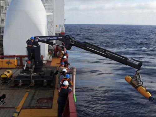 Công tác tìm kiếm MH370 vẫn đang diễn ra Ảnh: CNN