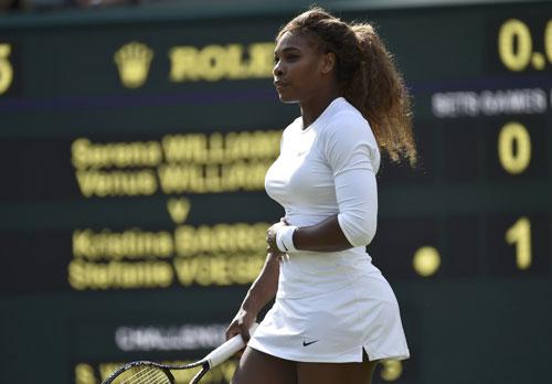 Serena Williams xác nhận sẽ tham dự giải trên sân nhà Ảnh: REUTERS