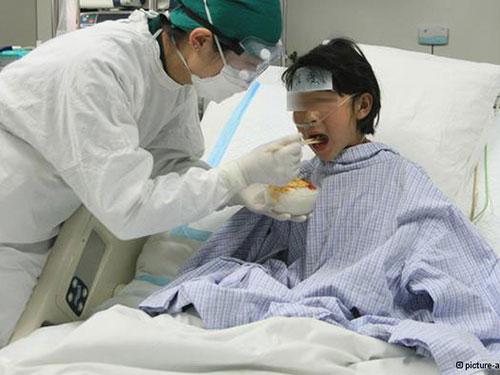 Chính quyền Bắc Kinh tăng cường an ninh tại các bệnh viện từ đầu năm 2014 Ảnh: ZUMA PRESS