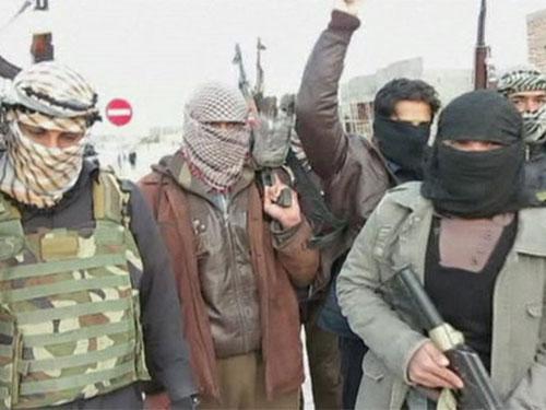 Các phần tử nổi dậy liên quan đến Al-Qaeda chiếm giữ TP Fallujah của Iraq mấy ngày qua Ảnh: BBC