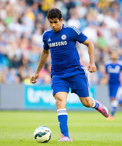 """Với """"máy ủi"""" Diego Costa, Chelsea tự tin sẽ chinh phục được những đội bóng như Burnley ở mùa này Ảnh: REUTERS"""