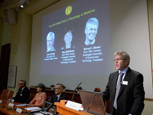 Giải Nobel Y học được công bố hôm 6-10 Ảnh: Reuters