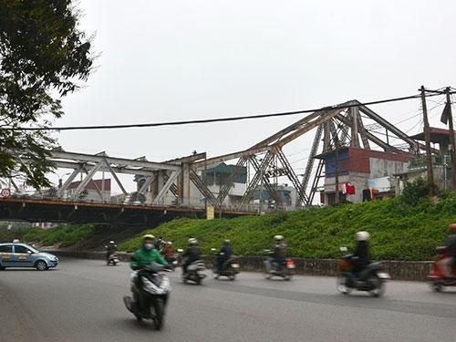 Một đoạn trong dự án xây dựng đường sắt đô thị Hà Nội tuyến số 1 Ảnh: TUẤN NGUYỄN