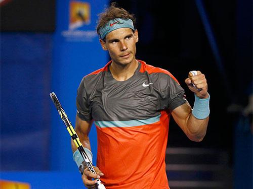 Nadal đang nhắm đến chức vô địch Úc thứ hai trong sự nghiệp Ảnh: REUTERS