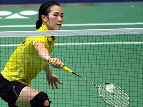 Vũ Thị Trang đang có giải đấu thành công trên sân nhà