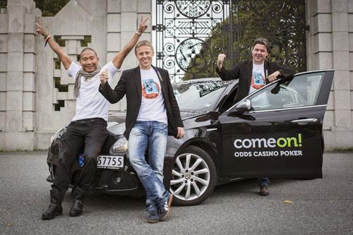 Từ trái qua: Tay-Young Pak, Øyvind Djupvik và Gunnar Garfors Ảnh: NEWS.COM.AU