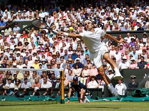 Sau Wimbledon 2014, Federer chỉ tái xuất ở Giải Toronto Masters Ảnh: REUTERS