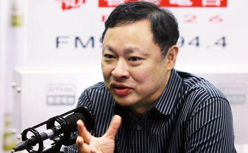 Benny Tai, người đồng sáng lập phong trào Chiếm lĩnh trung tâm Ảnh: SCMP