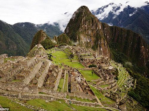 Khu thánh địa Machu Picchu Ảnh: ALAMY