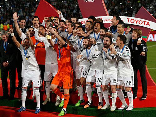 Real dưới thời HLV C.Ancelotti đáp ứng kỳ vọng của lãnh đạo CLB và CĐV Ảnh: REUTERS