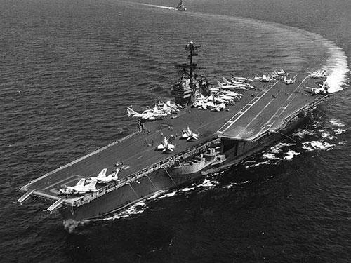 Tàu USS Ranger Ảnh: U.S. Navy