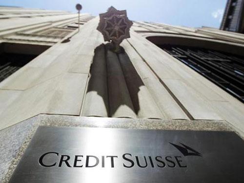 Trụ sở chi nhánh ngân hàng Credit Suisse tại thành phố New York - Mỹ Ảnh: REUTERS
