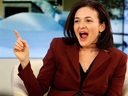 Bà Sheryl Sandberg Ảnh: Reuters