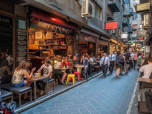 Melbourne - Úc được xem là thành phố đáng sống và thân thiện nhất thế giới Ảnh: Alamy