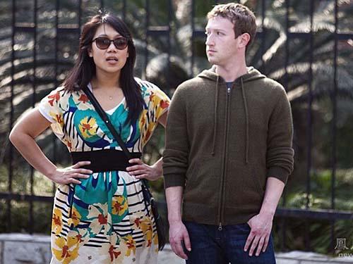 Mark Zuckerberg và vợ,  Priscilla Chan Ảnh:  INCREDIBLE TIDE