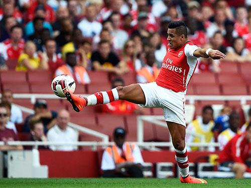 Alexis Sanchez, tân binh đáng giá nhất của Arsenal hè qua Ảnh: REUTERS