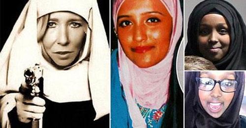 Các cô gái đến từ Anh được thủ lĩnh IS hết sức tin tưởng Ảnh: Daily Mail