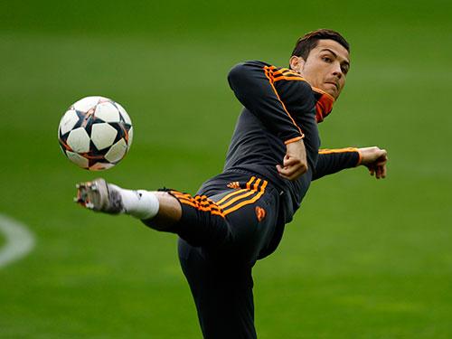 Ronaldo sẽ là nhân vật đáng chú ý nhất trên hàng công Real khi đội tiếp Bayern Munich Ảnh: REUTERS