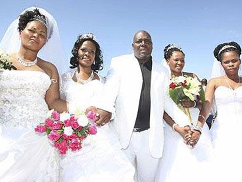 Một đám cưới ở Kenya Ảnh: Bellanaija.com