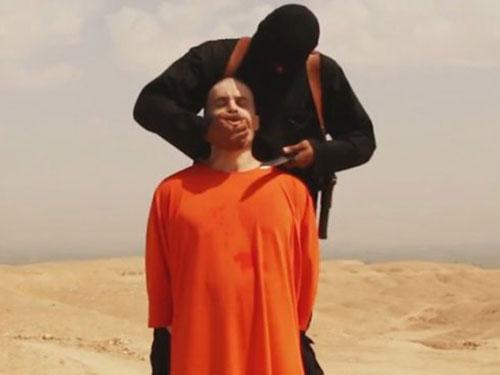 Nhà báo người Mỹ James Foley bị IS hành quyết Ảnh: Press TV