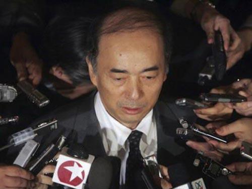 Đại sứ Nhật tại Mỹ Kenichiro Sasae cho rằng Trung Quốc đang khiến thế giới lo lắng  Ảnh: HOUSEOFJAPAN.COM