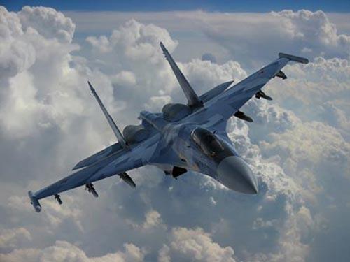 Trung Quốc đang muốn mua chiến đấu cơ Su-35 của Nga Ảnh: WCT