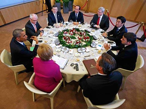 Nhóm G7 quan tâm đến tình hình căng thẳng ở biển Đông Ảnh: REUTERS