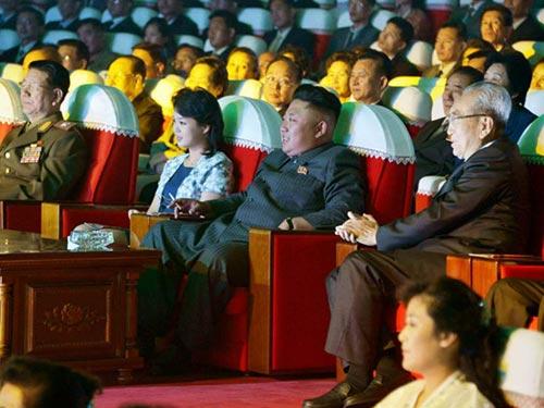 Nhà lãnh đạo Triều Tiên Kim Jong-un trong lần xuất hiện trước công chúng gần đây nhất hôm 3-9 Ảnh: KCNA