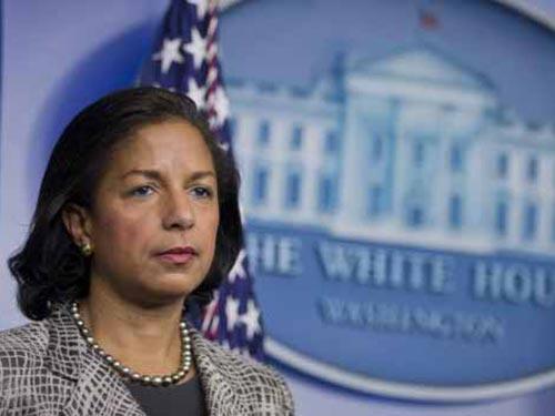 Cố vấn an ninh quốc gia Mỹ Susan Rice Ảnh: AP