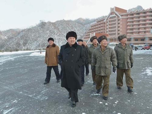 Nhà lãnh đạo Triều Tiên Kim Jong-un cam kết cải thiện quan hệ với Hàn Quốc trong thông điệp đầu năm Ảnh: REUTERS