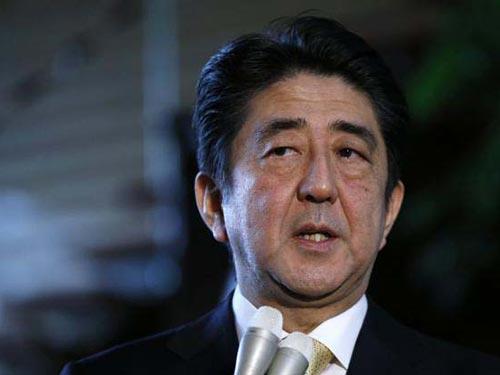 Thủ tướng Nhật Bản Shinzo Abe đang cân nhắc giải tán Hạ viện Ảnh: Reuters