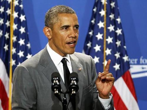 Chính quyền của Tổng thống Barack Obama đang thảo luận với Canada, Anh và Úc về lệnh trừng phạt Nga Ảnh: REUTERS