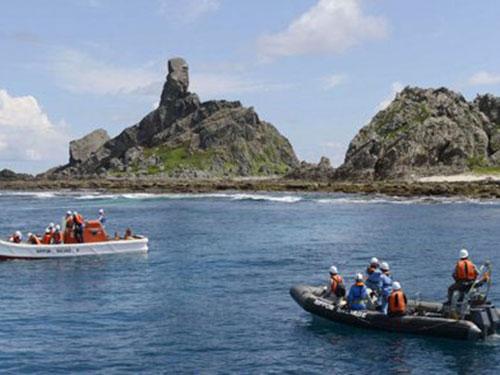 Trung-Nhật vẫn chưa có tiếng nói chung về quần đảo tranh chấp. Ảnh: Reuters