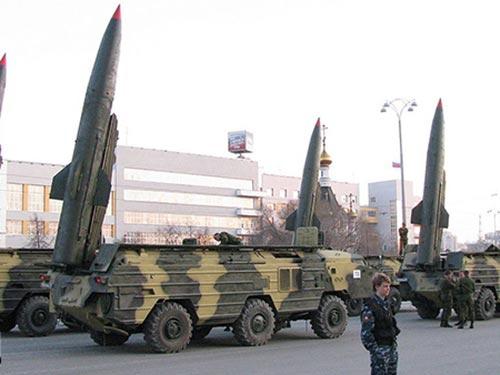 Tên lửa đạn đạo tầm trung của Nga Ảnh: RIAFAN.RU