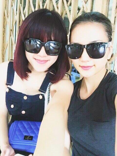 Thiều Bảo Trâm và em gái Thiều Bảo Trang