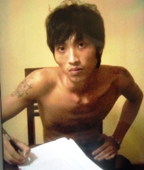 Lê Thanh Hùng, người được xác định là kẻ cầm đầu vụ cướp