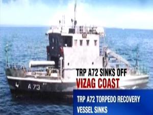 Tàu TRV A-72 . Ảnh: India Times