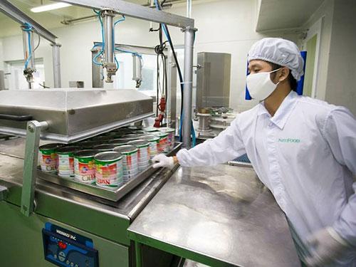Dây chuyền sản xuất sữa bột hiện đại của NutiFood