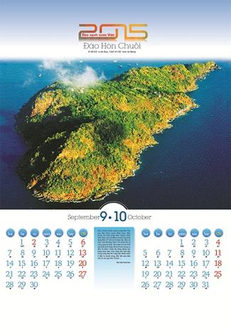 Chiêm ngưỡng 7 hòn đảo đẹp nhất Việt Nam qua lịch