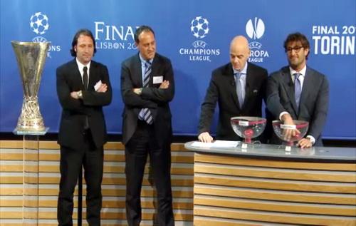 Cựu danh thủ Ciro Ferrara bốc thăm bán kết Europa League