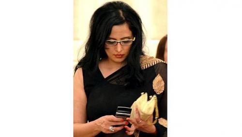 Nữ nhà báo xinh đẹp người Pakistan Mehr Tarar. Ảnh: Facebook