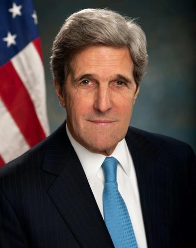 Ngoại trưởng Mỹ John Kerry hôm 21-9 gặp gỡ người đồng cấp Iran Mohammad Javad Zarif tại New York để thảo luận về mối đe dọa của IS. Ảnh: Telegraph