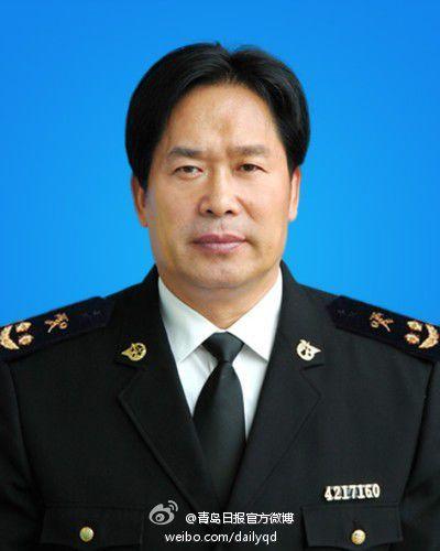 Cục phó Cục hải quan thành phố Thanh Đảo Peiquan Bian. Ảnh: Weibo