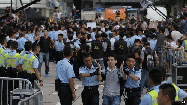Mỹ lên tiếng ủng hộ Hồng Kông